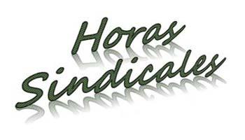 Horas Sindicales Enero 2018