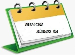 Servicios Mínimos del 8 Marzo