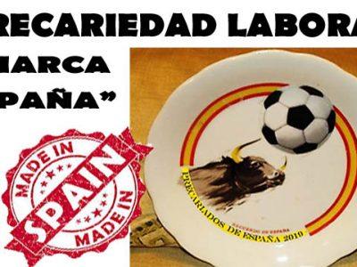 Precariedad laboral «Marca España»